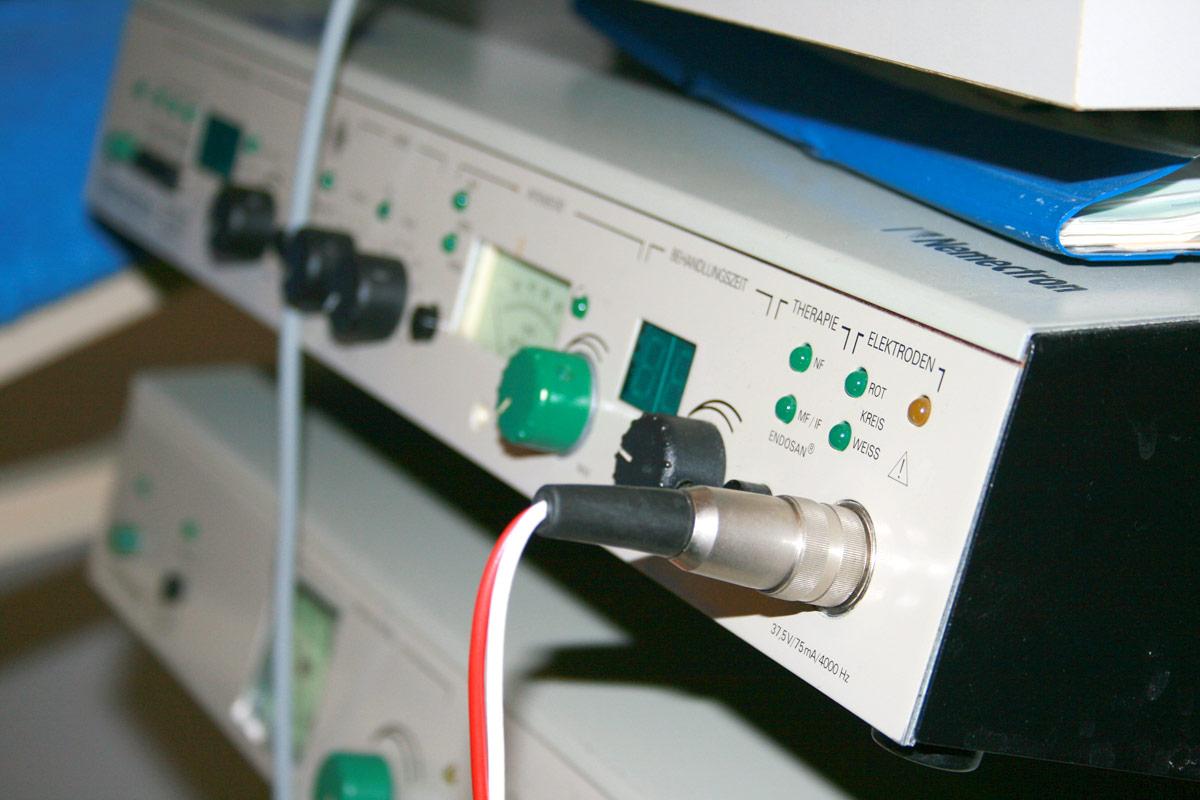 Elektrotherapie / Iontophorese